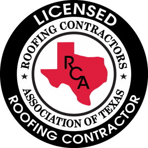 Licensed Roofing Contractor by the Roofing Contractors Association of Texas
